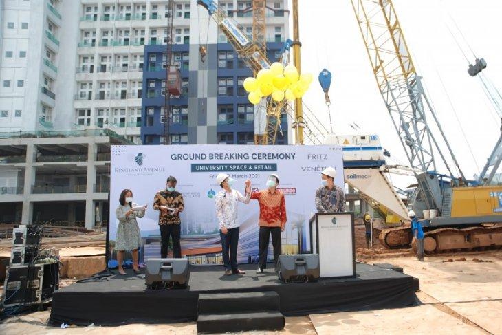 Pembangunan Kingland Avenue Serpong terus berlanjut