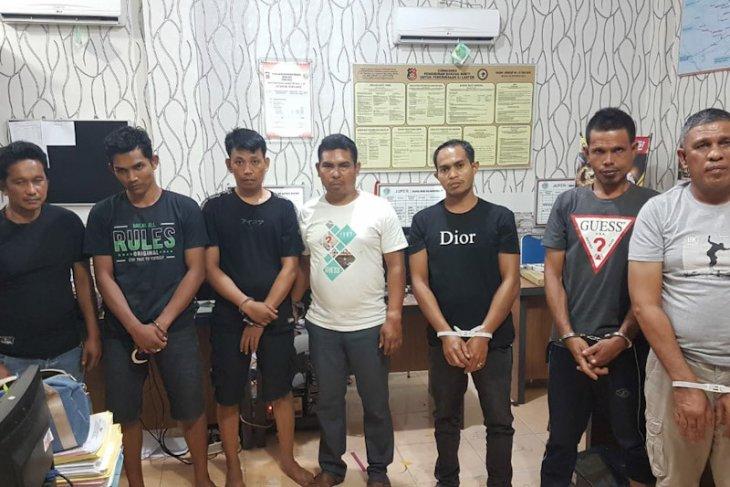 Polisi tangkap tujuh pengedar narkoba