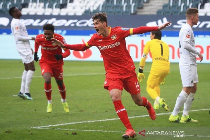 Liga Jerman: Leverkusen kembali ke jalur kemenangan setelah tundukkan Gladbach