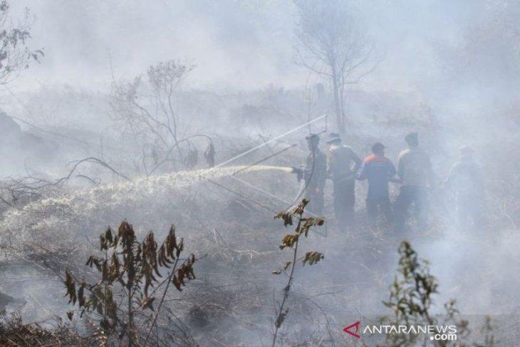 Kebakaran hutan dan lahan gambut di Aceh Barat meluas capai enam hektare