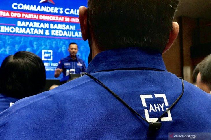 Ketua DPD Partai Demokrat 34 provinsi siap bantu AHY lawan KLB.
