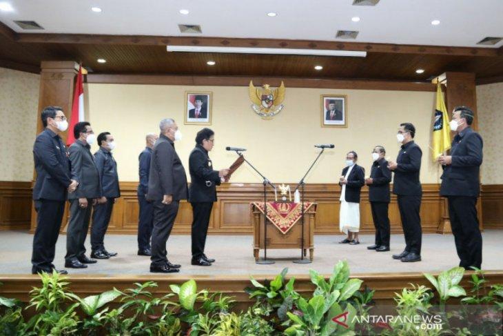 Pemkab Badung minta direksi Perumda Tirta Mangutama kerja maksimal layani masyarakat