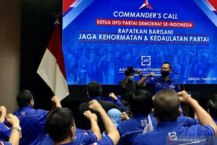 AHY minta rakyat Indonesia bantu selamatkan demokrasi