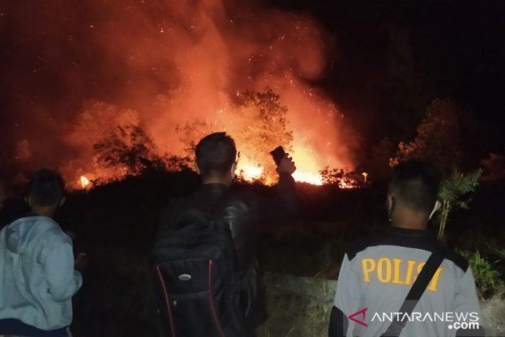 Polres Bangka Barat imbau warga tidak buka lahan dengan cara membakar