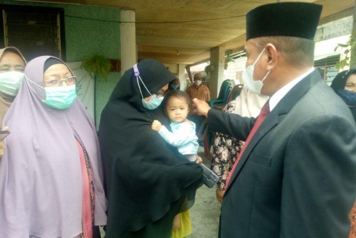 Gubernur Sumut jenguk keluarga wartawan yang meninggal