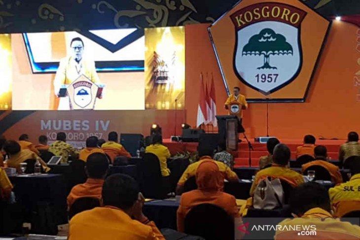 Kosgoro 1957 deklarasikan Airlangga Hartarto Calon Presiden 2024