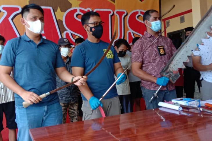 Polda Banten tangkap geng motor