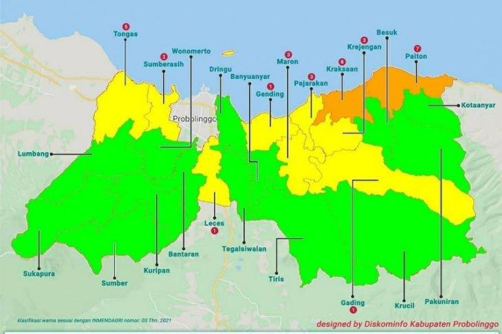 Sebanyak 14 kecamatan di Kabupaten Probolinggo masuk zona hijau