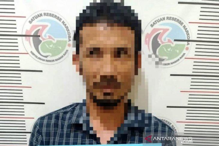 Diduga edar sabu, oknum PNS dan mahasiswa Nagan Raya ditangkap