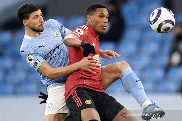 Liga Inggris: Solskjaer sebut Anthony Martial pemain terbaik Derbi Manchester