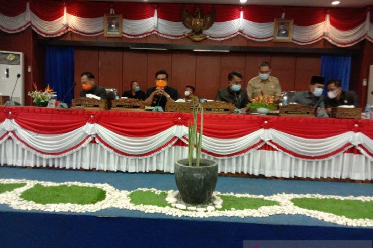 Bupati Belitung sampaikan dua raperda ke DPRD