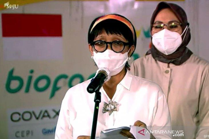 Indonesia terima 3,8 juta dosis vaksin AstraZenecamelalui COVAX