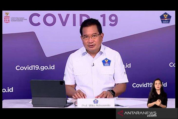 Pasien sembuh COVID-19 bertambah lebih banyak dibandingkan kasus positif