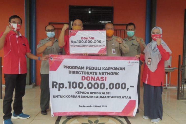 Telkomsel salurkan bantuan bagi korban banjir di Kalimantan Selatan