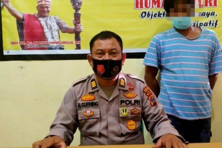 Seorang nelayan ditangkap dari atas kapal oleh Polres Tapteng