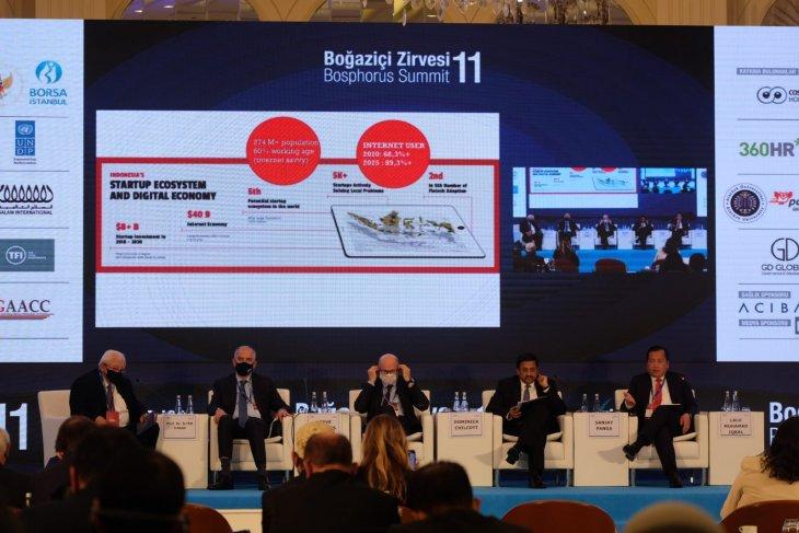 Indonesia pushes digital economy at Bosphorus Summit