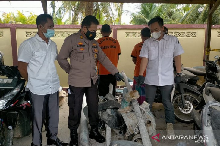 Polres Singkawang amankan pelaku dan buru pemodal PETI