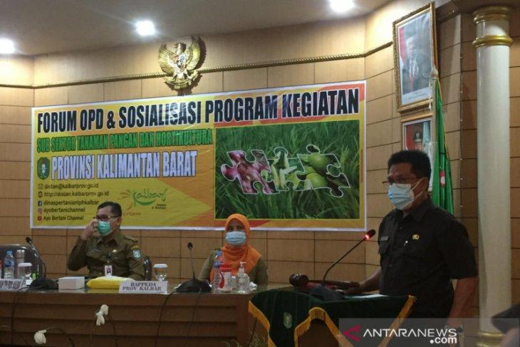 Sekda Kalbar harapkan sinergisitas antardaerah dalam bidang pertanian