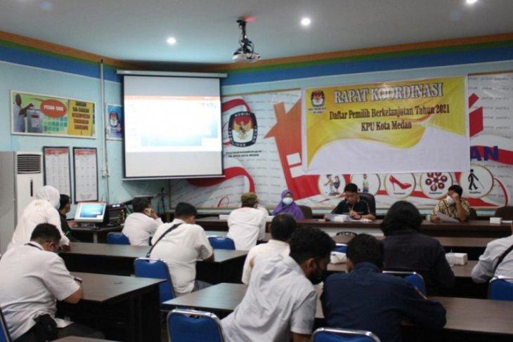 KPU Medan gelar Rakor DPB bersama partai politik