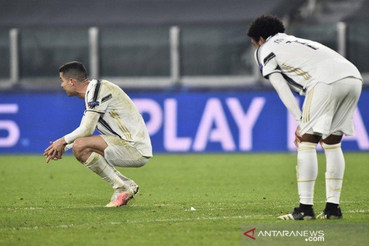 Juve kalahkan Porto, tapi tersingkir karena gol tandang