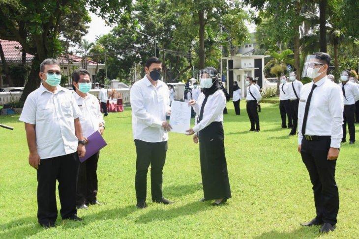 Wali Kota Kediri serahkan SK kepada 55 PPPK