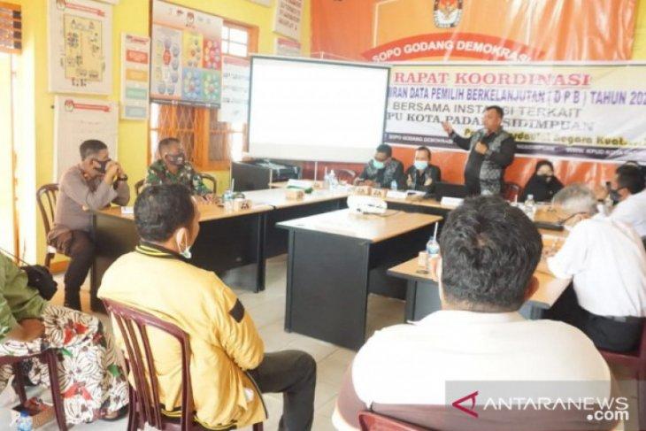 Rakor DPB, KPU Padangsidimpuan adakan pertemuan bersama partai politik