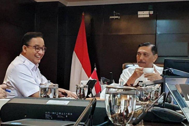 Anies temui Luhut bahas tiga masalah utama Jakarta