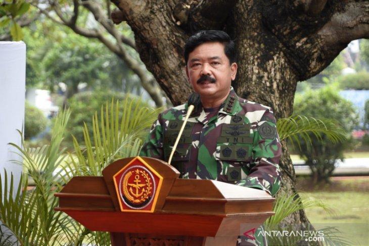 Panglima TNI mutasi 99 perwira tinggi