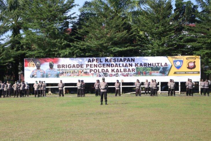 Kapolda Kalbar bentuk Brigade Pengendali Karhutla