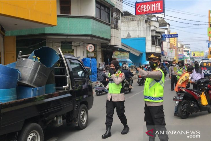 Tegakkan PPKM, Polres Sukabumi Kota gelar operasi yustisi