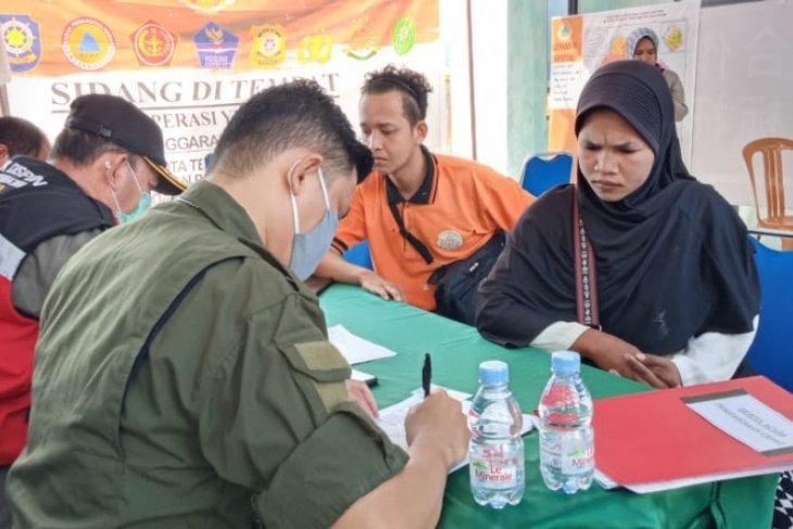 Puluhan warga Kota Ternate kena sanksi akibat tidak terapkan prokes