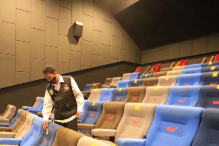 Pemkot Madiun cek kesiapan protokol kesehatan jelang pembukaan gedung bioskop