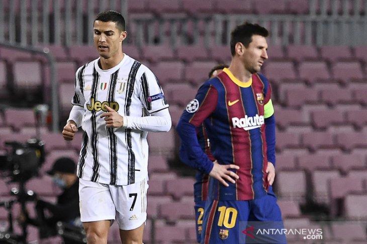 Pertama kalinya sejak 2004, perempat final UCL tanpa Messi dan CR7