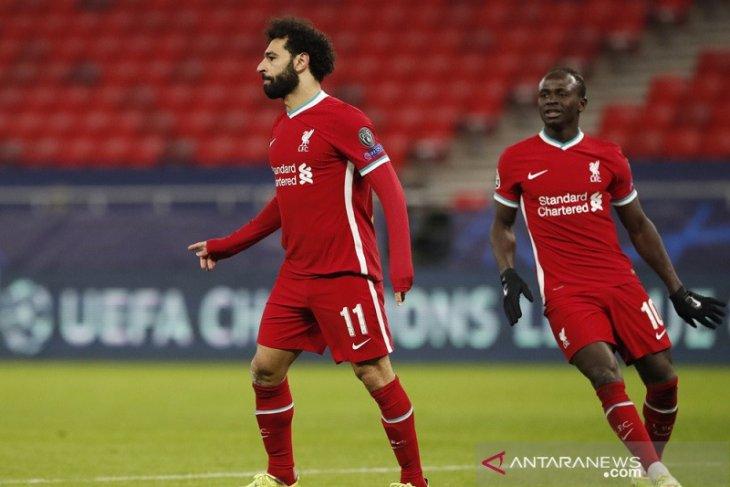 Kalahkan Leipzig, Liverpool melaju perempat final Liga Champions