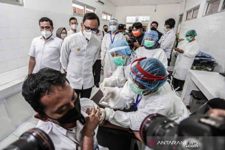 Dinkes Kota Bogor data 247 jurnalis jadi sasaran penerima vaksin tahap kedua