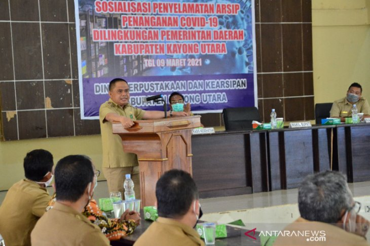 Kayong Utara Kalbar himpun arsip penanganan pandemi COVID-19