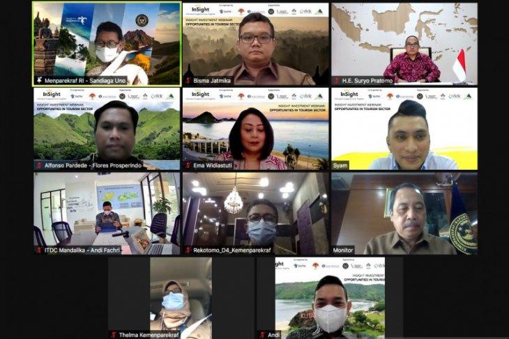 Indonesia invites Singapore investors to invest in tourism