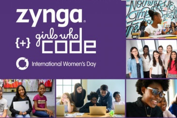 Zynga teams up with Girls Who Code to help raise awareness and support for women in tech