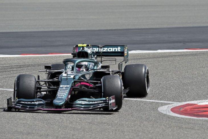 Sebastian Vettel mulai adaptasi di balik kemudi Aston Martin