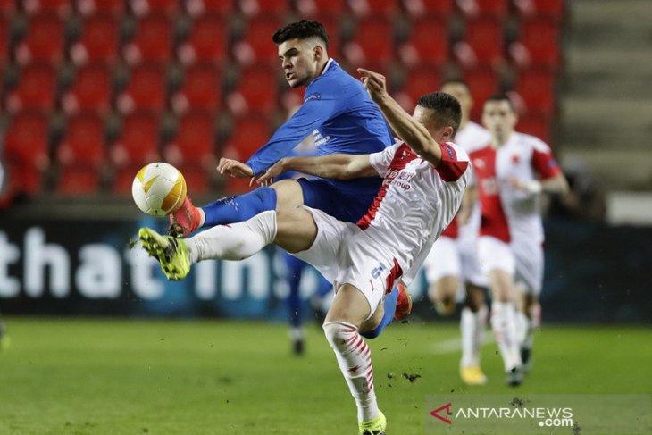 Rangers bawa bekal gol tandang dari leg pertama kontra Praha