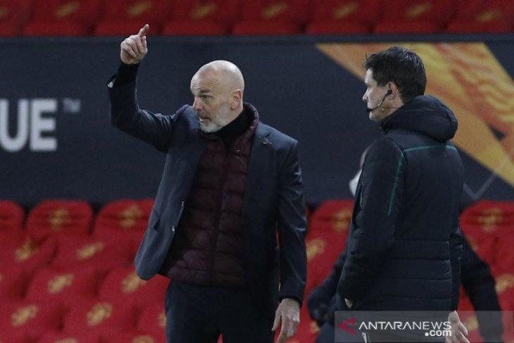 Pioli puji semangat Milan saat imbangi MU