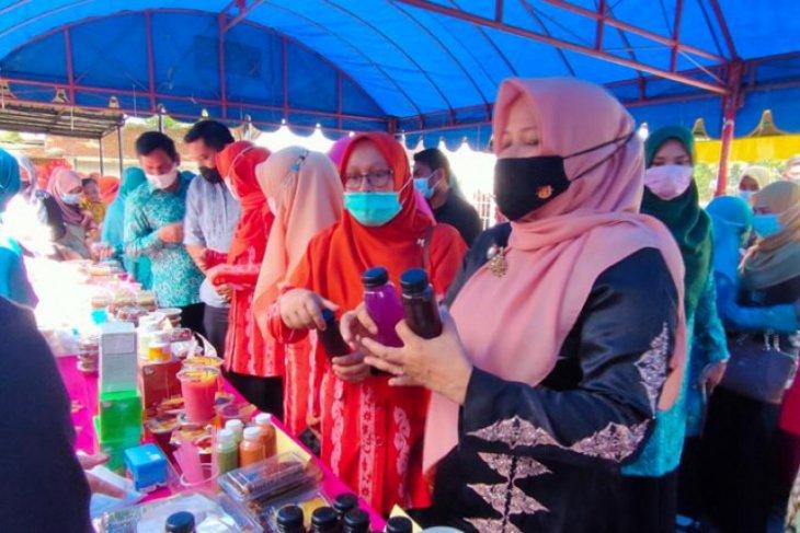 Buka Expo Hut UKM, ini kata Ketua PKK Aceh Besar