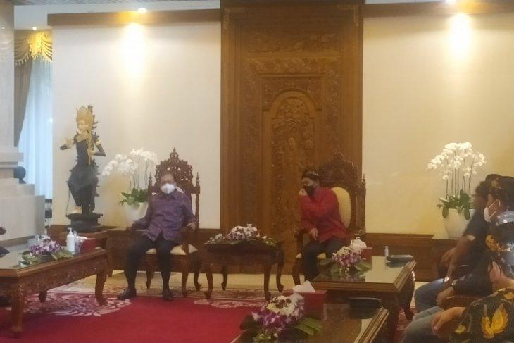 Gubernur Koster siap dukung dan fasilitasi Munas Kadin di Bali