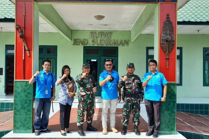 Kodim 0213/Nias dukung BNNK Gunungsitoli lawan narkoba