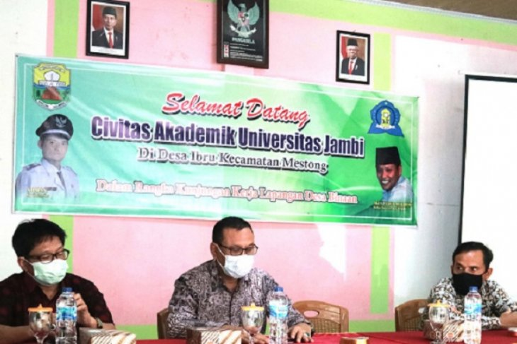 Wakil Rektor Unja berikan sosialisasi program Desa Mitra Binaan di Muarojambi