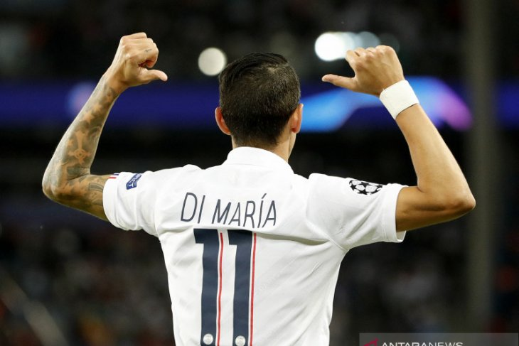 Angel Di Maria bela PSG satu musim lagi