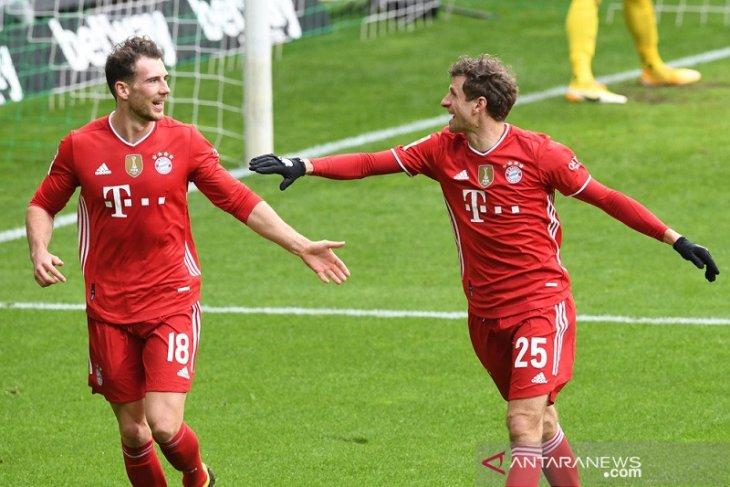 Bayern Munchen gasak Bremen 3-1
