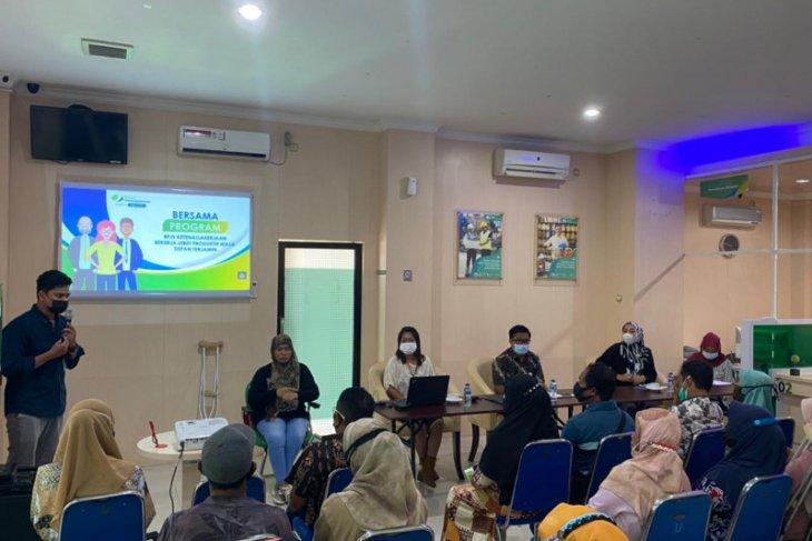 BPJamsostek Cabang Ternate sosialisasi program ke pekerja disabilitas