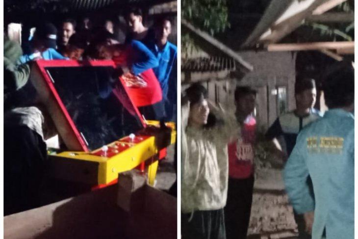 Ratusan warga Desa Teluk Secanggang Langkat bubarkan judi tembak ikan