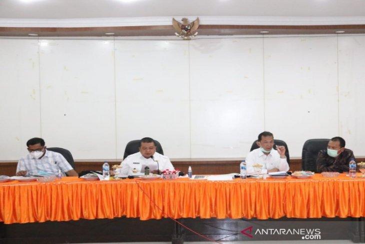 Bupati - Wabup Tapsel undang Syahrul M.Pasaribu curah pendapat rencana penyusunan RPJMD 2021-2026